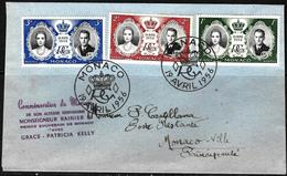 868 - MONACO - 1956 - FDC - COVER - Stamps