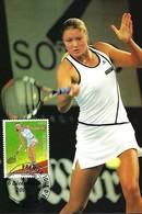 6.12.2005  - Tennis   Photo  Fern. Konnen   Impr. Linden ,Luxembg - Maximumkaarten