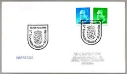 Exposicion Filatelica - ESCUDO HERALDICO - Shield Heraldry. Alcobendas, Madrid, 1992 - Sobres