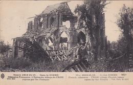 CPA  L'église Du Village De FRISE Dans La SOMME Guerre 1914/1918 - Guerre 1914-18