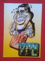 POSTAL POST CARD CARICATURA DE GARRI KASPAROV CARTOON AJEDREZ CHESS Échecs CARICATURE VER WORLD CHAMPION RUSSIA URSS VER - Postales