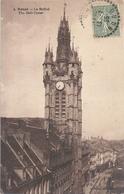DOUAI . LE BEFFROI . CARTE AFFR SUR RECTO LE 12-7-1925 - Douai
