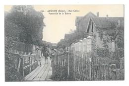 ANTONY (92) Rue Céline Passerelle De La Bièvre - Antony