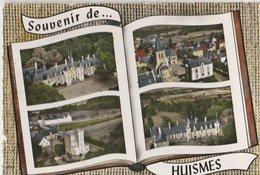 HUISMES (37). Souvenir De: Forme Livre, 4 Vues Aériennes - Avignon
