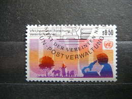 Agriculture Education Universities # United Nations UN Vienna Austria 1985 Used #Mi. 48 - Oblitérés