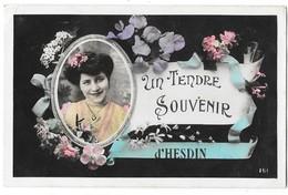 HESDIN (62) Carte Fantaisie Tendre Souvenir - Hesdin