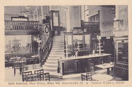 Wien 8., Alserstraße 23 - Cafe Alserhof 1913 !!! - Zonder Classificatie