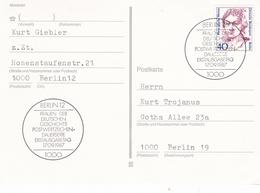 Berlin 1988 Dorothea Erxleben Postcard Erstausgabetag - [5] Berlin