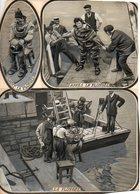 Marine : Scaphandrière En 1913 - Métiers