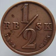 Denmark 1/2 Rigsbankskilling 1852 XF - Danimarca