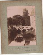 1 Photo  Chateau à  Augerville  La Rivière  Loiret 45 Vers 1900 - Old (before 1900)
