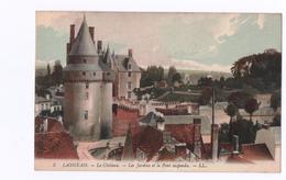 Langeais..Le Château-les Jardins Et Le Pont Suspendu..Qualité..Voir Scan - Langeais