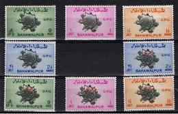 Bahawalpur  / 1949 / 75° Anniversaire De L'UPU / Les 2 Séries Complètes * - Bahawalpur