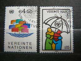 Symbols U.N.O. # United Nations UN Vienna Austria 1985 Used #Mi. 49/0 Sailing Ships - Oblitérés