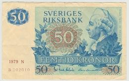 50 COURONNES 1979 - Sweden