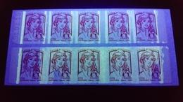 VARIETE DE PHOSPHO. Carnet Sagem Daté 08.01.15  Marianne De Ciappa  20g. - Postzegelboekjes