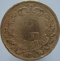 Denmark 1 Skilling Rigsmont 1856 VF - Danemark