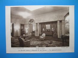 (1925) Exposition Des ARTS DÉCORATIFS : Salon De Réception -- Salle à Manger Du Pavillon Lalique - Zonder Classificatie