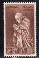 Clemens XIII - Vatican - 1958 - Oblitérés