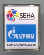 HANDBALL BALONMANO - SEHA, South East Handball Association, Pin, Badge, Abzeichen - Pallamano