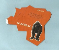 Magnet Brossard Collection Afrique Le GORILLE - Animaux & Faune