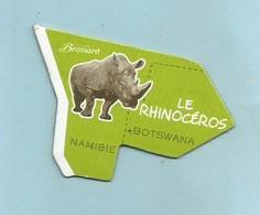Magnet Brossard Collection Afrique Le Rhinocéros - Animaux & Faune