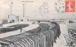 [34] Hérault > (Sete ) CETTE  Phare  St Saint Louis (séchage Des Filets, Pêche Pêcheurs)(lighthouse) *PRIX FIXE - Sete (Cette)
