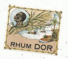 étiquette De Vin , RHUM DOR - Rhum
