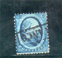 PAYS BAS 1864 O - Gebraucht