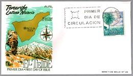 EL TEIDE - Volcan - Volcano - Canarias. SPD/FDC Madrid 1966 - Volcanes