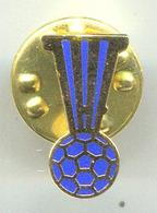 HANDBALL BALONMANO - IHF, International Handball Federation, Enamel, Pin, Badge, Abzeichen - Pallamano