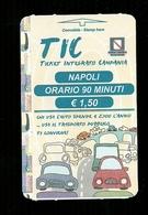Biglietto Autobus Italia - Tic Napoli 90 Minuti Da 1.50 Euro - Autobus