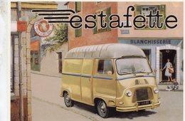 Renault Estafette   -  Publicite D'epoque   -   Centenaire Editions Carte Postale - Camions & Poids Lourds