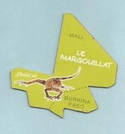 Magnet Brossard Collection Afrique L' Aigrette Le Margouillat - Animaux & Faune