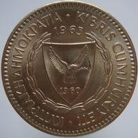 Cyprus 100 Mils 1963 UNC / BU - Cyprus