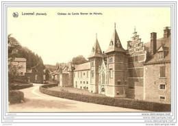 LOVERVAL ..--  Château Du Comte WERNER DE MERODE . - Gerpinnes