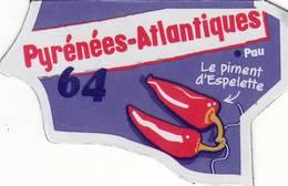 Magnet Le Gaulois Depart'aimant 64 Version 2017 - Magnets