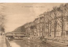 CPA - Belgique -  Charleroi - Quai De Brabant - Charleroi