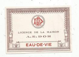 étiquette De Vin ,  EAU DE VIE,  A.E. DOR - Etiquettes