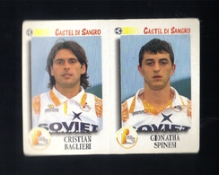 Figurina Calciatori Italiani Panini 1997-1998 - Castel Di Sangro - N.445   - Football - Soccer - Socker - Fussball - Fut - Panini