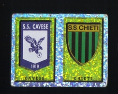 Figurina Calciatori Italiani Panini 1997-1998 - Cavese E Chieti  - N.261  Scudetto  - Football - Soccer - Socker - Fussb - Panini