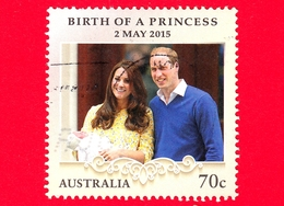 AUSTRALIA - Usato - 2015 - Nascita Di Una Principessa - Birth Of Princess Charlotte Of Cambridge - 70 C - 2010-... Elizabeth II
