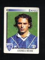 Figurina Calciatori Italiani Panini 1997-1998 - Empoli  - N.101  Andrea Mussi  - Football - Soccer - Socker - Fussball - - Panini