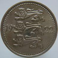Estonia 5 Mark 1922 XF / UNC - Estonia