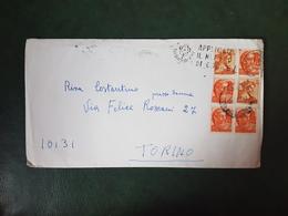 (36910) STORIA POSTALE ITALIA 1967 - 1946-.. République