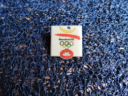 Pin's Devos Lemmens, Barcelona 92 (Box 2) - Olympische Spelen