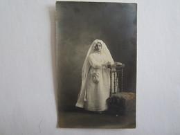 Religion Communion Communiante Marcelle Barbe église Saint Honoré D'Eylan - Altri