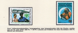 YEAR INTERN. OF CHILD - COMOREN - Mi. Nr.  566/567 - NH - (6532-1/3.) - Isole Comore (1975-...)