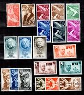 Ifni Belle Petite Collection Neufs ** MNH 1950/1952. Bonnes Valeurs. TB. A Saisir! - Ifni
