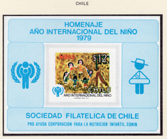 YEAR INTERN. OF CHILD - CILE - Mi. Nr.  915 ON BF - NH - (6532-1/3.) - Cile